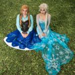 Snow sisters, chicago princess parties