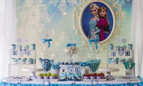 How to Throw a Frozen Themed Birthday Party, in 5 steps!