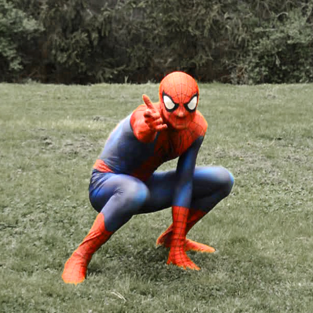 spider hero, super hero parties Chicago, kids entertainment